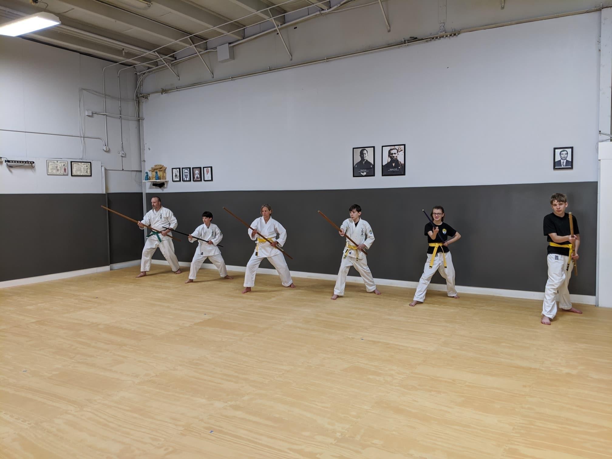 White Mountain Karate Bojutsu